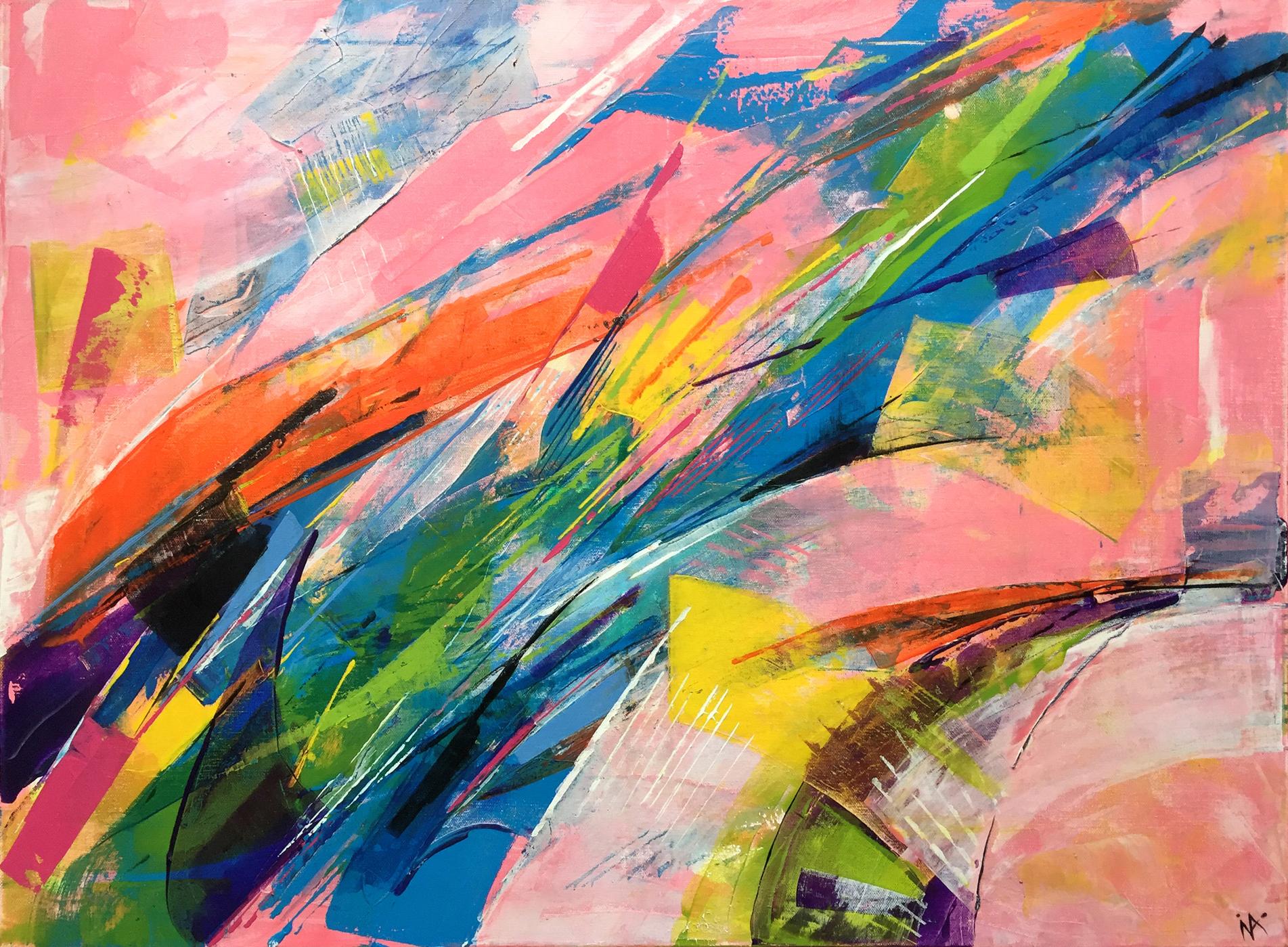 Ina Prodanova | Impression | Acrylic | 69x95cm framed | £610