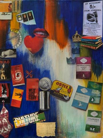 Maryellen Lamb | Solitude | Mixed media on canvas | £45x60cm | £450