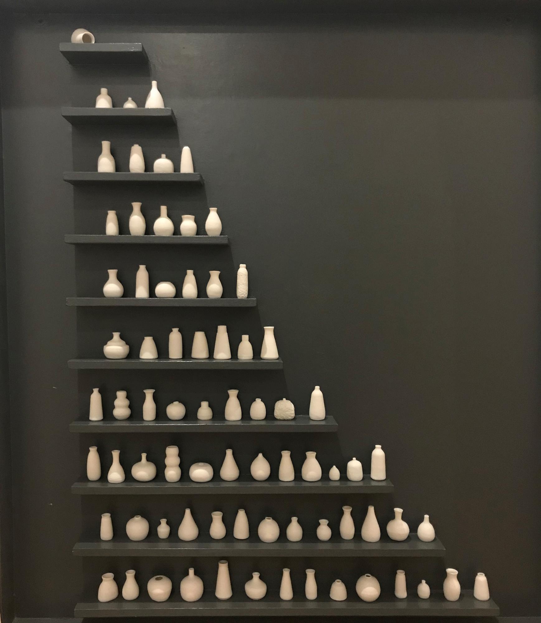 Phaedra Kouseli | Lockdownpour | Porcelain | 120x110cm | £1600
