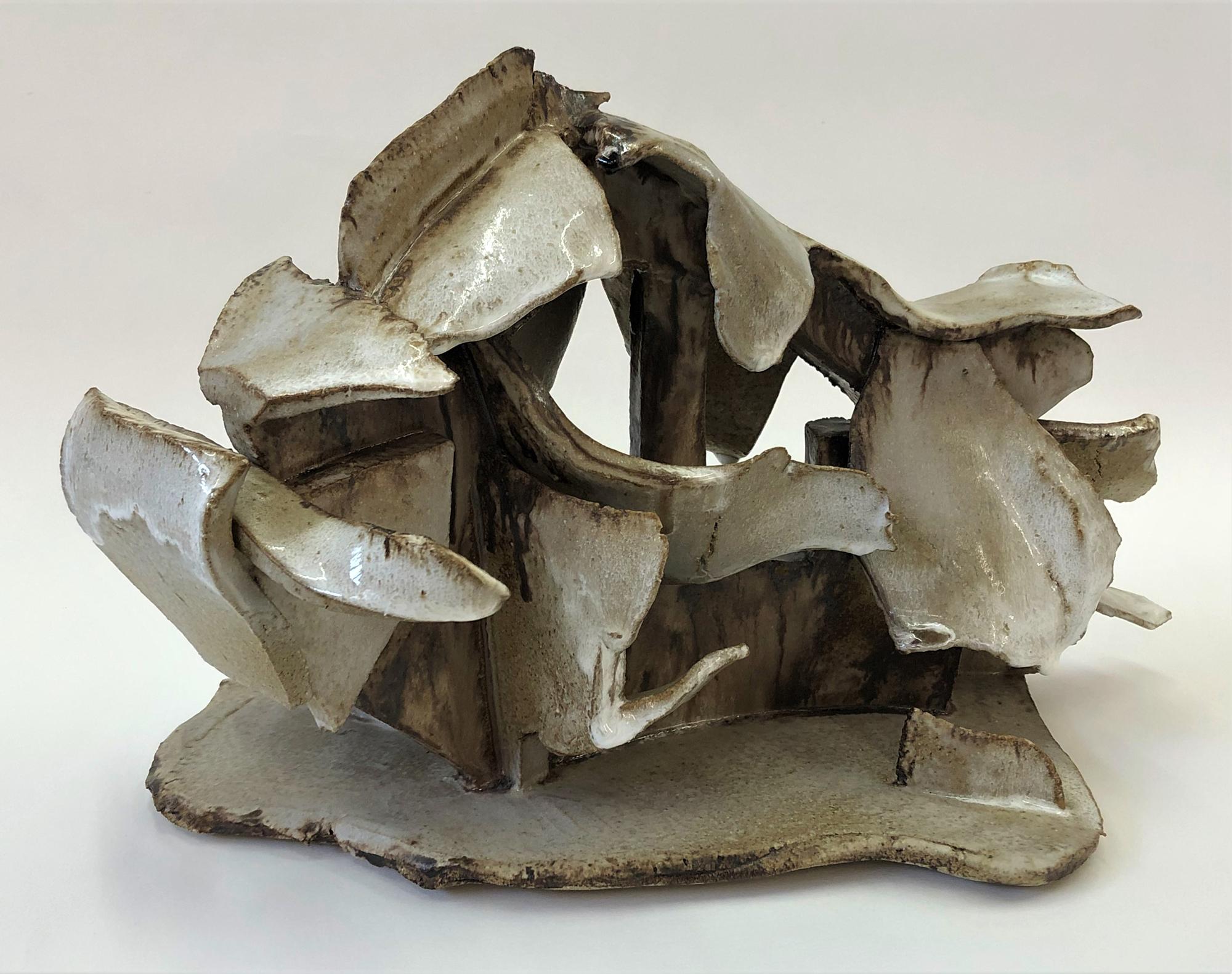 Robin Muckle | Charging Bull, large | Glazed Stoneware Ceramic | 35x25x20cms | £95
