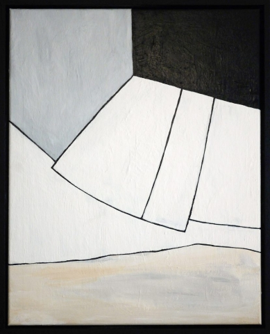 Simon Ekrelius | T.O.W. | Acrylic on canvas | 43x53cm | £420