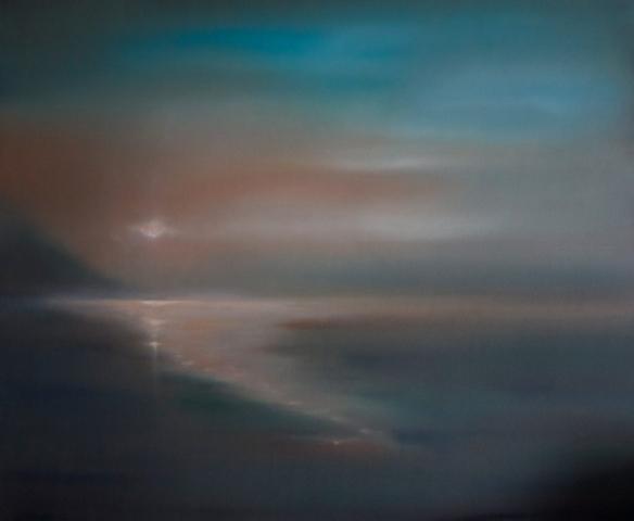 Jonathan Speed | Sunset over Loch Fyne | Limited edition (25) fine art print | £46x39cm, unframed | £45