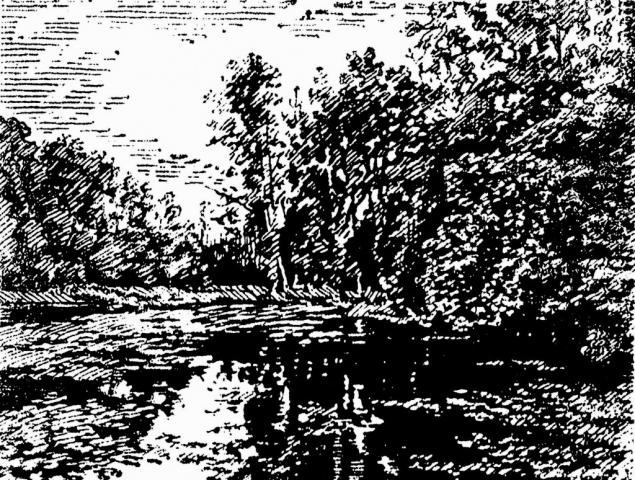 Philippa Beale | The Lake-At-Vaux | Silkscreen | 60x40cm | £185